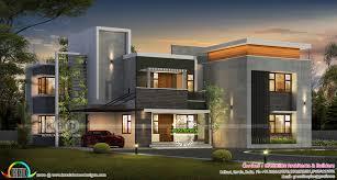 100 Home Design Contemporary Ultra Modern 5 Bedroom Contemporary House Plan Kerala Home