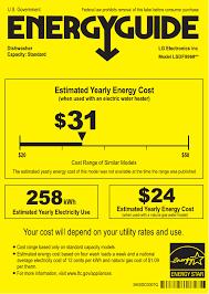 LG LSDF9969BD XD Energy Label User Manual Guide