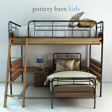 Pottery Barn, Owen Twin Loft & Lower Bed Set By Erkin_Aliyev | 3DOcean Fniture Study Loft Beds Sleep And Pottery Barn Plans For Bed With Desk Ktactical Decoration Bedding Fetching Sleepstudy White Wooden Bedroom Design Amazing Girls Room Ana Chelsea Diy Projects Bunk Teenager Sets Sale Personable Ideas Lamps Kids Large Cool Teen Best Awesome 3422 Hunter Donco