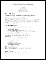 Instructional Assistant Resume Teacher Resumes Teaching Samples