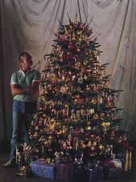 Gold Christmas Tree Tinsel Icicles by O Christmas Tree