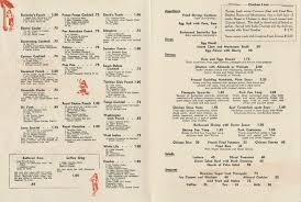 Ahwahnee Dining Room Menu by Classic San Diego Tiki Classicsandiego Com