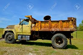 100 Trucking Supplies An Old Rusty Truck Used For Hauling Gravel And Industrial