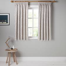 buy john lewis croft collection freya lined pencil pleat curtains