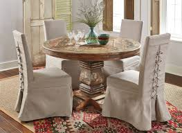 Cabana Round Dining Room Set W/ Muses Chairs Coaster Jamestown Rustic Live Edge Ding Table Muses 5piece Round Set With Slipcover Parsons Chairs By Progressive Fniture At Lindys Company Tips To Mix And Match Room Successfully Kitchen Home W 4 Ladder Back Side Universal Belfort Bradleys Etc Utah Mattrses Fine Parkins Parson Chair In Amber Of 2 Burnham Bench Scott Living Value City John Thomas Thomasville Nc Hillsdale 4670dtbwc4 Coleman Golden Brown