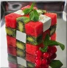 dressage des assiettes en cuisine on joue aux cubes si je gagne je te mange visions gourmandes
