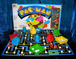 Vintage 1980 Atari Pac Man Board Game