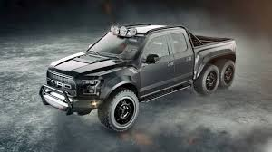 Hennessey's VelociRaptor 6X6 Is A 600-Horsepower, 6-Wheel-Drive ... 2017 Velociraptor 600 Twin Turbo Ford Raptor Truck Youtube First Retail 2018 Hennessey Performance John Gives Us The Ldown On 6x6 Mental Invades Sema Offroadcom Blog Unveils 66 Talks About The Unveils 350k Heading To 600hp F150 Will Eat Your Puny 2014 For Sale Classiccarscom Watch Two 6x6s Completely Own Road Drive