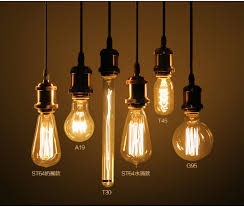 st64 4w 6w 8w vintage dimmable led filament light bulb