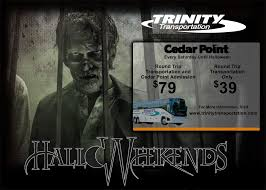 Halloween Express Cedar Rapids by Cedar Point Charter Trinity Transportation