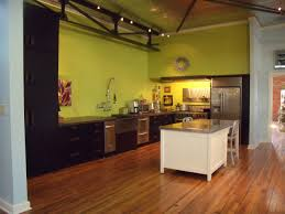 kitchen splendid fresh green lime color scheme wall paint