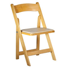 100 Event Folding Chair Natural Wood Camelot Party Rentals Northern