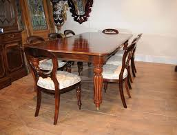 18 Mahogany Dining Room Table And 8 Chairs Furniture Sets Set