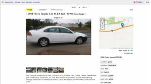 100 Craigslist Auto And Trucks Used Car Dealers Posing As Private Sellers Online