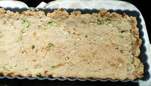 pâte à tarte végétalienne à la poudre d amande salée petits