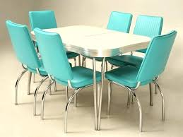 Retro Dinette Sets For Sale Chrome Kitchen Table And Chairs Within