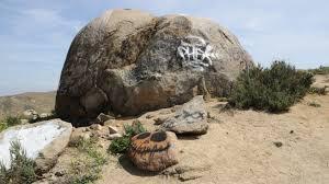 Pumpkin Patch Boulder pumpkin rock california curiosities
