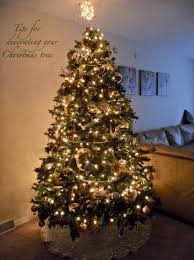 Unlit Christmas Trees Walmart by Tips For Decorating Your Christmas Tree