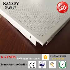 aluminum false lay in ceiling tile high quality and cheap price