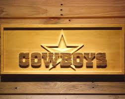 Dallas Cowboys Home Decor by Dallas Cowboys Wood Letters
