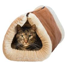 Kh Thermo Kitty Heated Cat Bed by 13 Cuddly Cat Beds To Keep Your Cat Warm In Winter Iheartcats Com