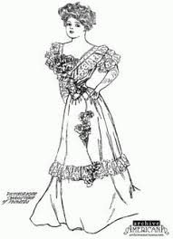 Victorian Coloring Pages For Adults