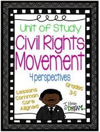Civil Rights Movement Unit Of Study