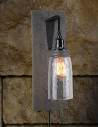 Reclaimed Barnwood Mason Jar Wall Sconce - Rustic Barn Wood Sconces Movie Theater Sconces Theatre Wall Lights Best Home Lighting Capvating Candle For Your Ideas Bathroom Black White Barn Sconce Incredible Veranda Bronze Finish Traditional Pottery Combines Rustic Look With Modern Restoration Outdoor Medium Shades Of Light Lends Farmhouse To Powder Room Remake Blog Images Decoration 30 Girly Vintage Inspiring Interior With