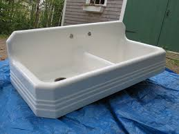 Farmhouse Sink With Drainboard And Backsplash by Kitchen Extraordinary Farmhouse Sink Photo Of In Decoration 2015