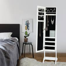25 Beautiful Standing Mirror Jewelry Armoires | Zen Merchandiser 25 Beautiful Standing Mirror Jewelry Armoires Zen Mchandiser Amazon Mirrotek Adjustable Free Tilt Full Length Jewelry Cabinet Mirror Free Standing Roselawnlutheran Decorating Wooden Armoire In Powell Mirrored Armoire Abolishrmcom Belham Living Large Locking Cheval Ipirations Over The Door Mirrored Fniture Floor Target Image Of Black For Home In