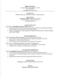 Resume Examples For Teenager Teenage Great Mples Objective