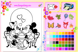 Mickey Coloring Book Games
