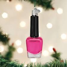 Amazoncom Old World Christmas 32342 Ornament Nail Polish Home