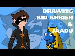 Drawing Kid Krrish And JaaduDrawing Coloring