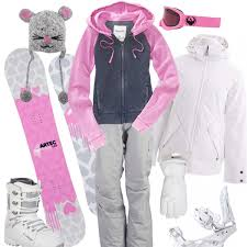 Cute Snowboarding Outfit