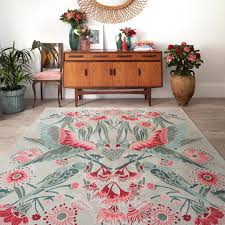 designer rugs on instagram focusing on australian flora