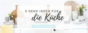 6 tipps deko ideen für die küche auf heimkleid