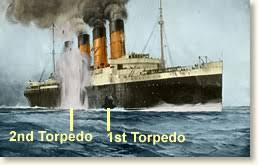 Where Did The Lusitania Sink Map by The Sinking Of The Lusitania 1915