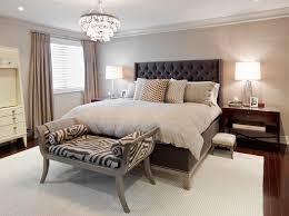 Transitional Master Dark Wood Floor Bedroom Photo In Toronto With Gray Walls