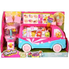Princess Kitchen Play Set Walmart by Moose Toys Shopkins Season 3 Scoops Ice Cream Truck Playset