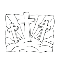 Christian Easter Coloring Pages Printable Free Images Picture For Preschoolers Religious Full Size