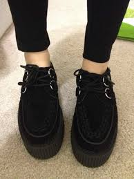 Pinterest Creepers Cute Vintage Shoes Tumblr Buscar Con Google I Like Black Clothes And