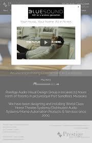 Prestige Audio Visual Design Group Competitors, Revenue And ...