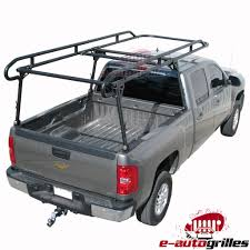 Adjustable Pick Up Truck Contractor Ladder Lumber Pipe Rack 1500 Lbs ...