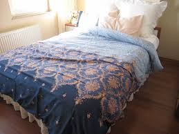 Bed Cover Sets by Pink Blue Navy Damask Print Full Queen King Duvet Cover Sets