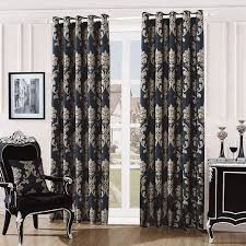Ebay Curtains With Pelmets Ready Made by Fully Lined Quality Jacquard Damask Curtains Ready Made With