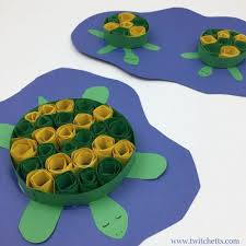Create Adorable Turtle Crafts With This Paper Quilling Technique For Kids Construction