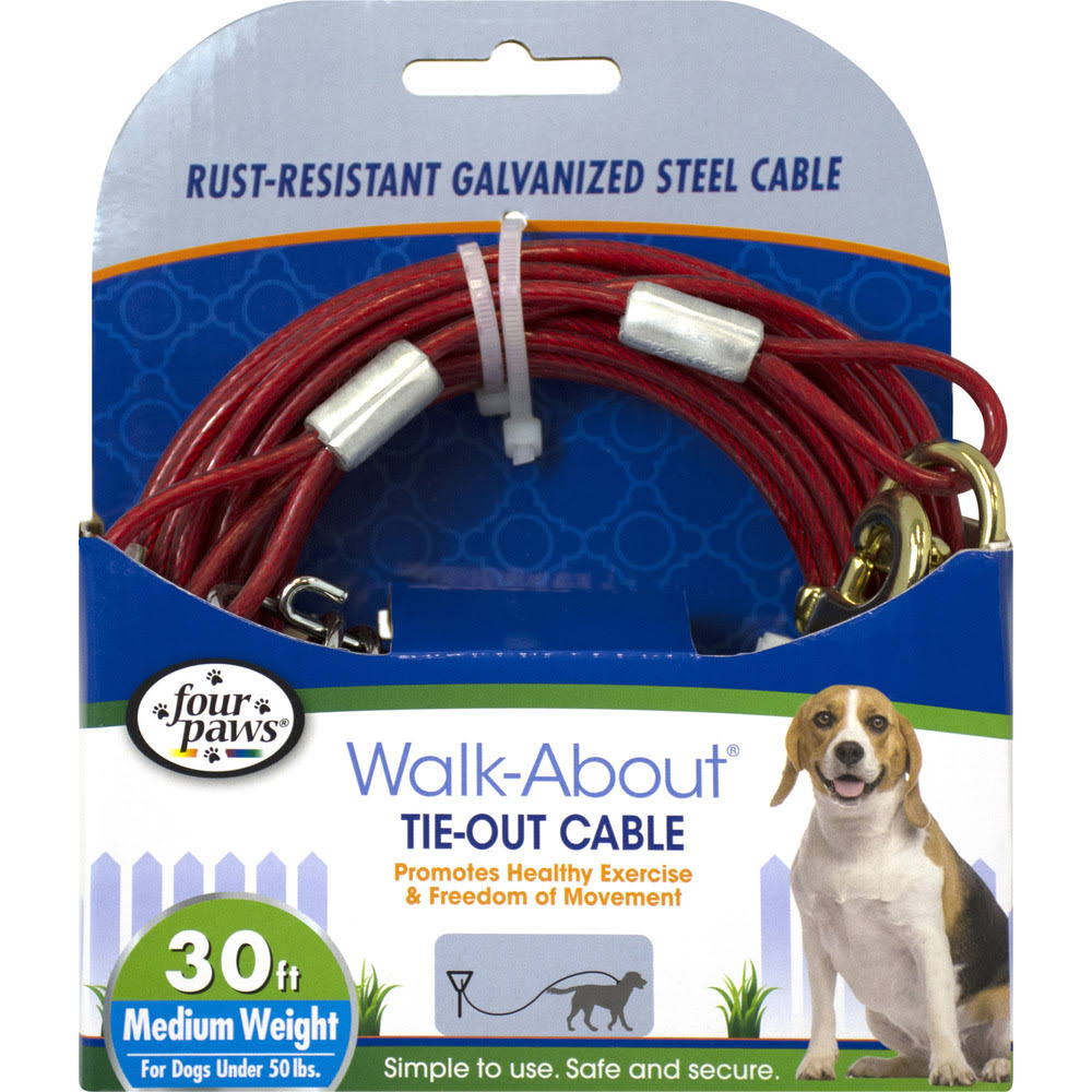 Four Paws Dog Tie-Out Cable