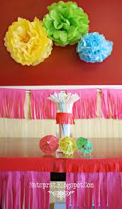 Tissue Paper Flower Tutorial