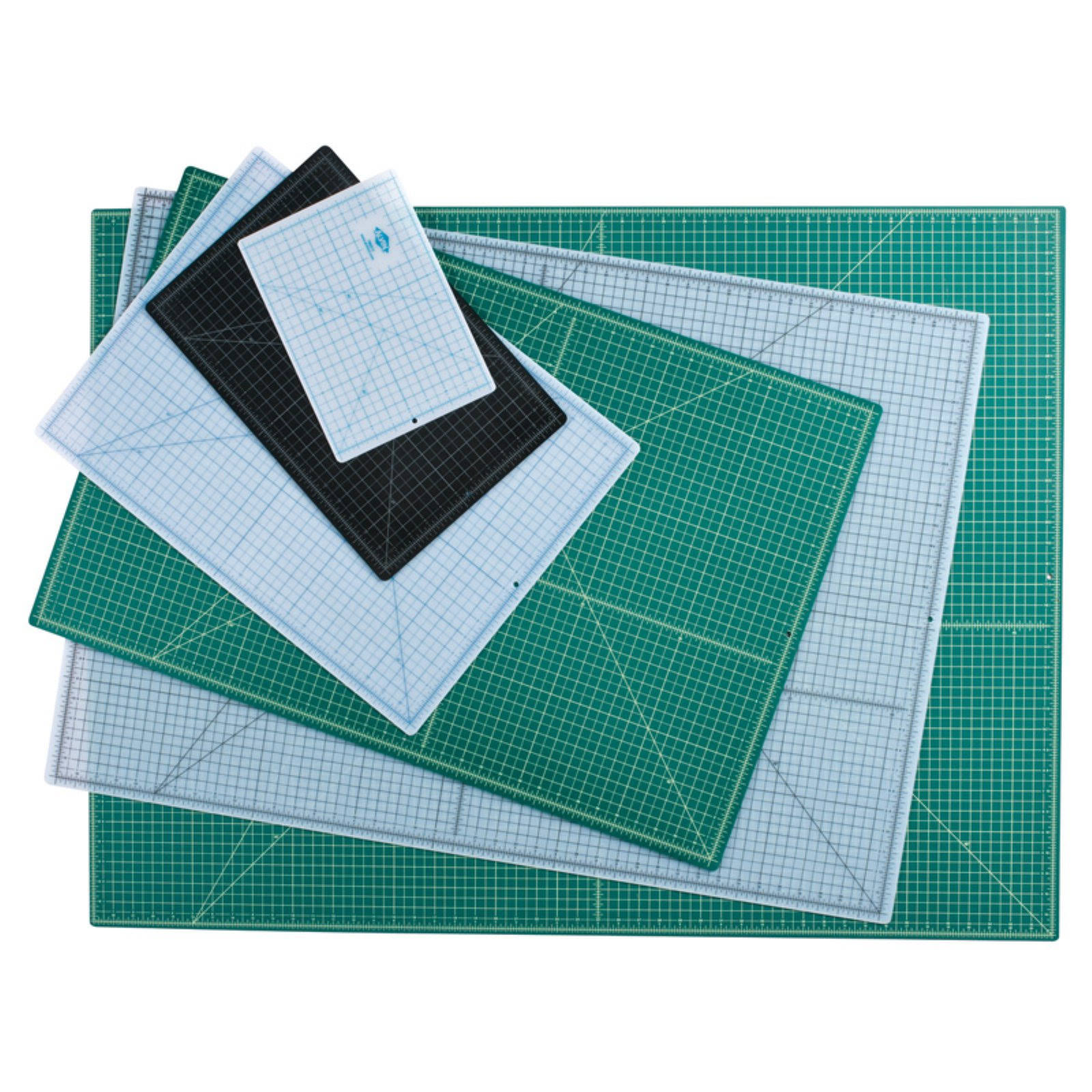 "Alvin Professional Cutting Mats - Green and Black, 36"" x 24"""